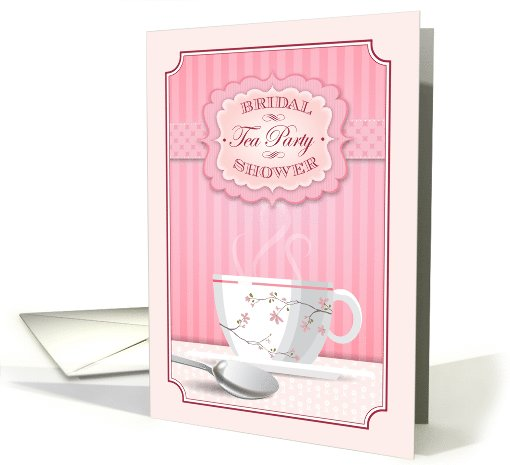 Bridal Shower Tea Party Invitation card (1014953)