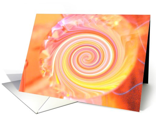 Thank you for your business: Abstract card (722042)
