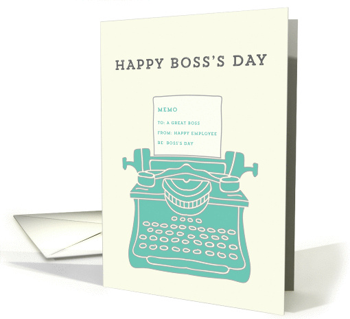 Happy Boss's Day card (1402092)