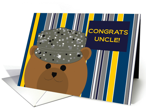 Uncle, Congrats! Air Force Member - Any Award/Recognition card