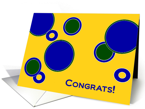 Good Job! Passing Your Big Exam Your Hard Work Paid Off card (928837)