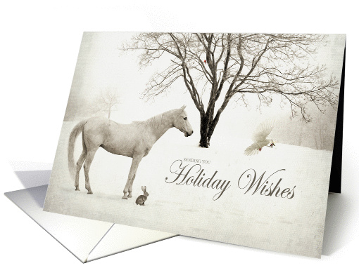 Winter Wishes card (832801)