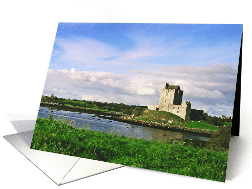Dunguaire Castle Galway Ireland Blnak Note card (832881)