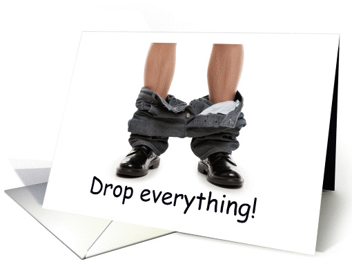Party invitation, drop everything, the party is on, card (1201382)