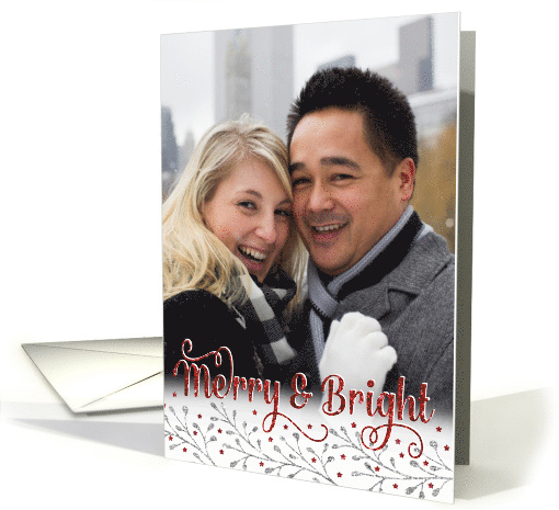 Custom Christmas Photo Card - Add Your Own Photo - Merry... (1407722)