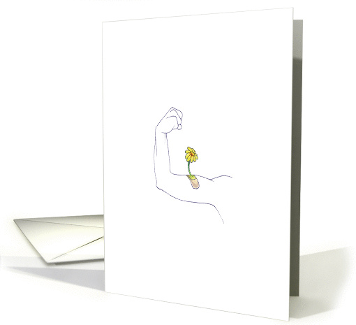 there, there arm. you'll feel better soon. card (1207776)