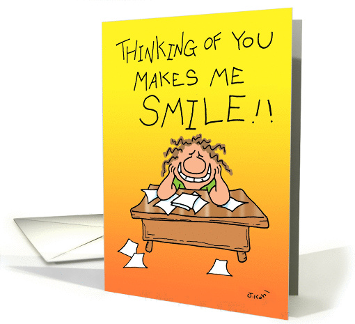Makes Me Smile card (812252)