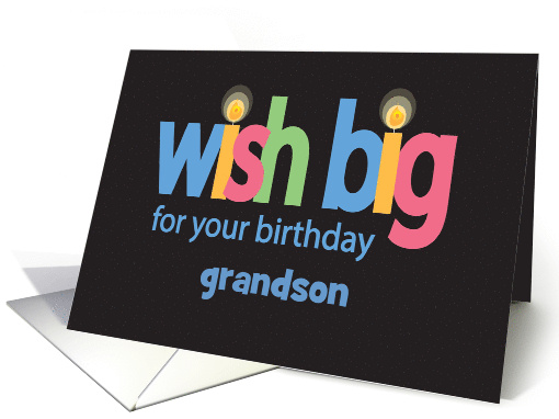 Birthday with Relationship Specific Custom Area, Wish Big card