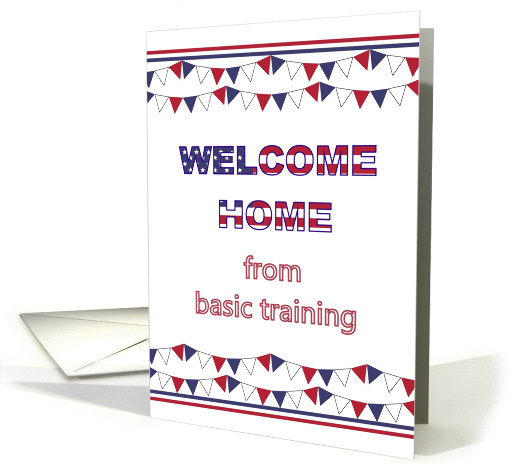 Welcome home from basic training card (1315254)