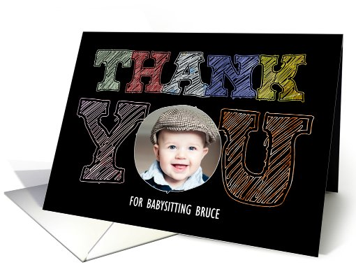 Thank You - Photo card (936664)