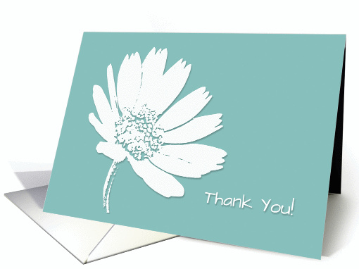 Abstract White Daisy card (1152930)
