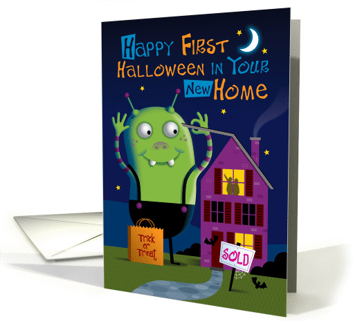 First Halloween in New Home card (1445402)