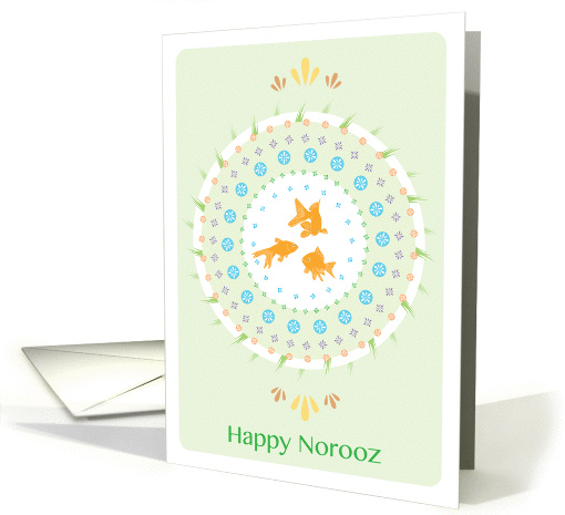 Happy Norooz (Persian New Year, Wishing You Prosperity) card (1058525)