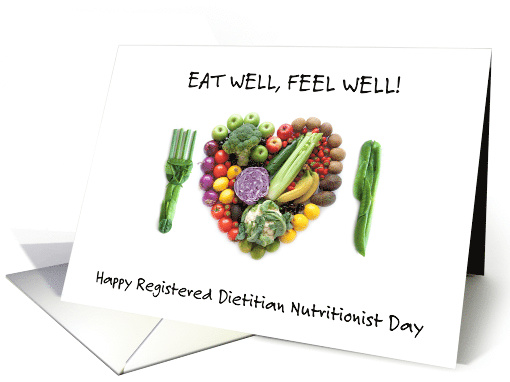 Registered Dietitian Nutritionist Day March 14th card (1512542)