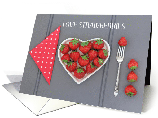 National Strawberry Day February 27th card (1516296)