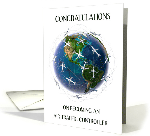 Congratulations on becoming an air traffic controller. card (1528076)