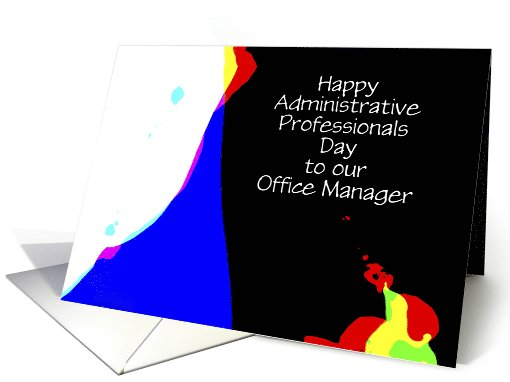 Administrative Professionals Day, Office Manager, Custom... (1029571)