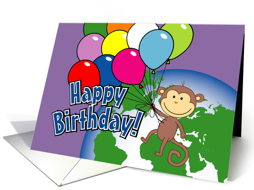 Out of This World - child birthday card (1262870)