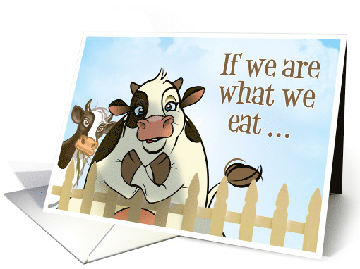 Complimenting Cow card (1288548)