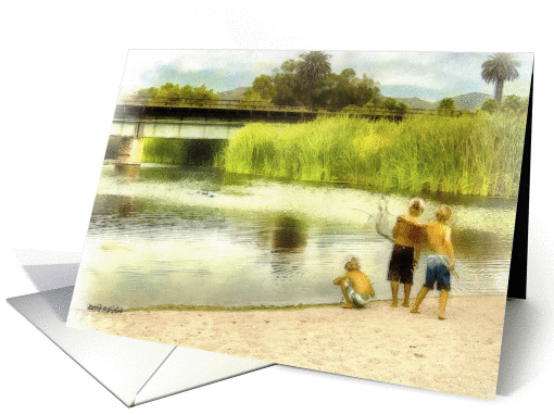 Best Friends, Brothers, Blank Note Card, card (1364160)