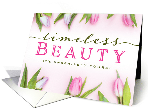 Thinking of You For Her – Timeless Beauty. It's Undeniably Yours. card
