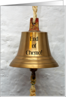 End of Chemotherapy Survivors' Bell Congratulations card