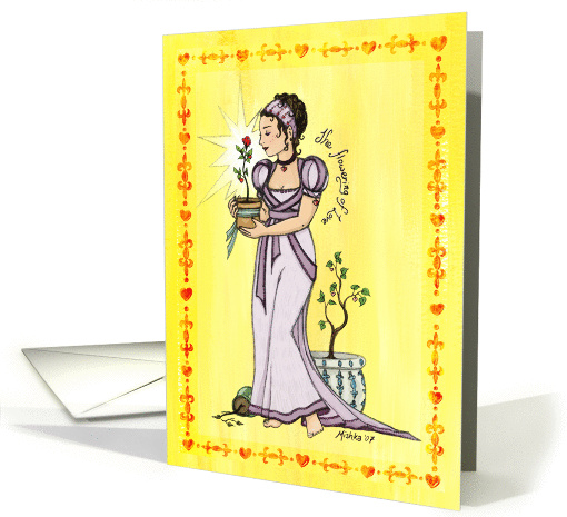 The Flowering of Love card (41801)