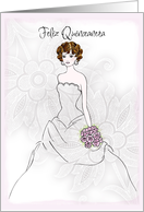 Quinceanera congratulations cards from greeting card universe feliz quinceanera card bookmarktalkfo Gallery