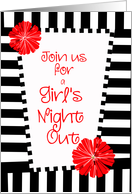 girl's night out card