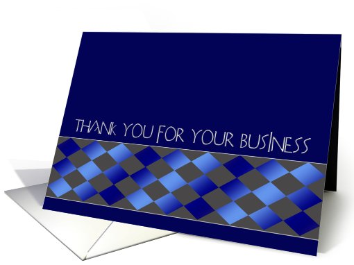 Thank you for your business card (370482)