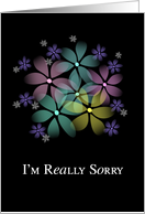 I'm Really Sorry card