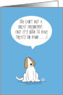 Can't Buy Great Friendship Dog Treats card