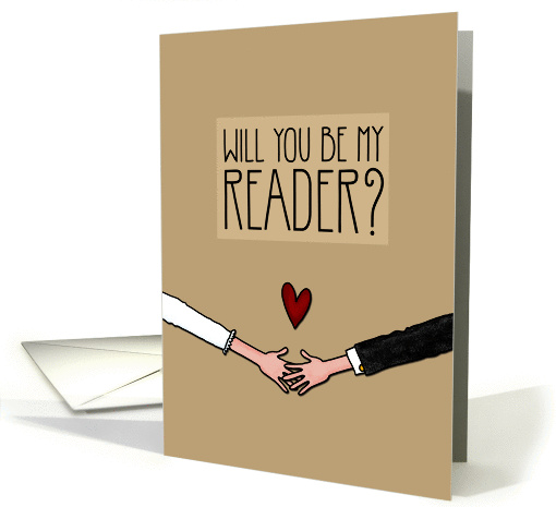 Will you be my Reader? card (1045647)