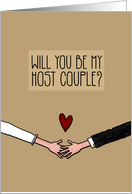 Will you be my Host Couple? card