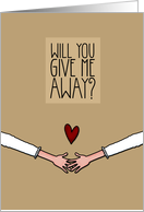Will you give me Away? - from Lesbian Couple card