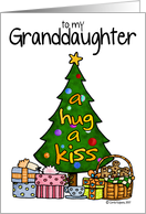 Christmas - Granddaughter Card