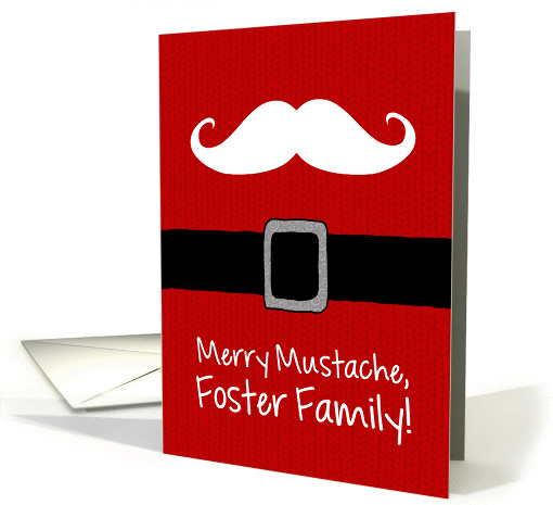 Merry Mustache - Foster Family card (1175386)