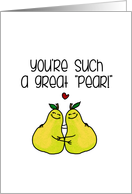 Great Pear - Congratulations Lesbian Couple card