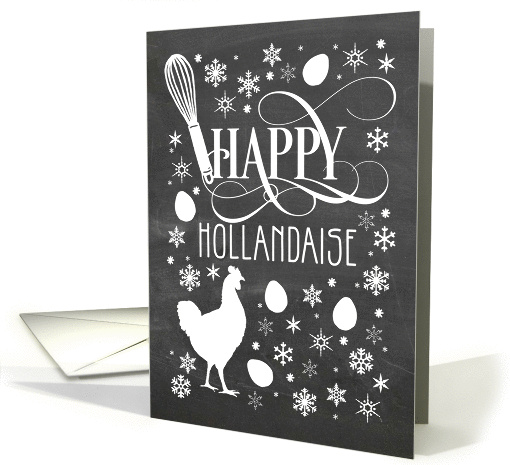 Happy Hollandaise - Business Christmas card (1329556)