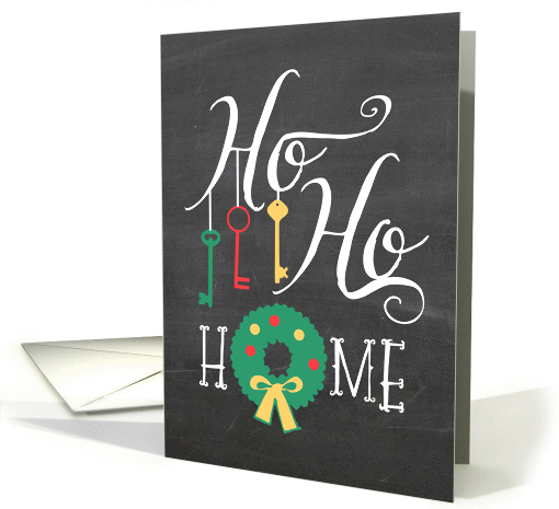 Ho Ho Home - New Address/Moving at Christmas card (1331206)