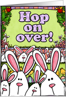 invitation - easter party card