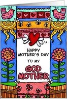mother's day - to my godmother card