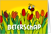 Beterschap card