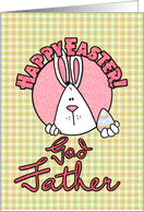 Happy Easter - god father card