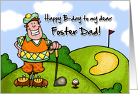 Happy B-day - foster dad card