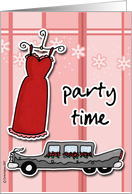 party - formal card