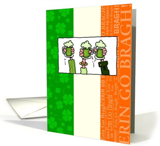 Happy St Patrick's Day - Green Beer card (590708)