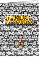 Counting Blessings - Will You Be My Godfather card