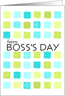 abstract - Boss's Day card