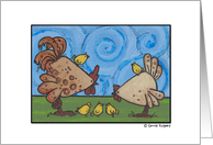 poultry family card